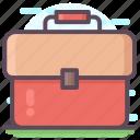 attache, briefcase, office bag, portfolio, suitcase icon