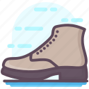 boot, footgear, footwear, jackboot, shoe icon