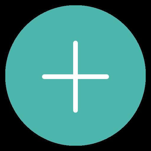 add, circle, style icon