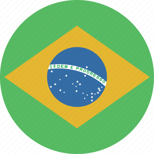 Brazil, circle, flag icon - Download on Iconfinder