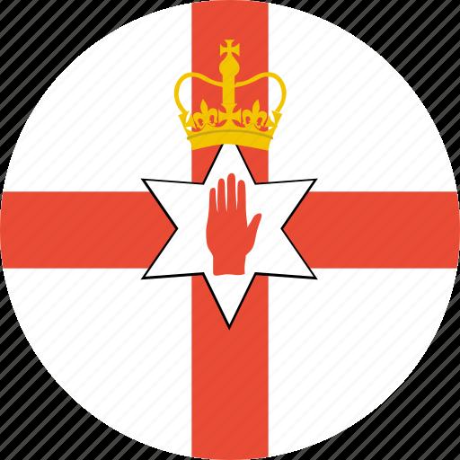 ireland, northern icon