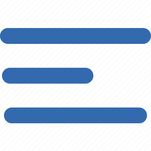 align, document, format, left, message, text icon