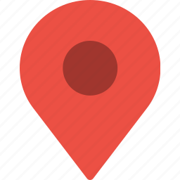 gps, location, map, pin, pointer icon