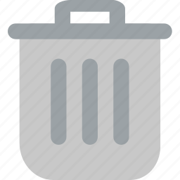 bin, can, garbage, recycle, trash icon