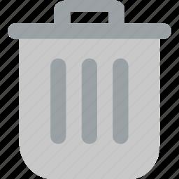 bin, can, cancel, dustbin, garbage, recycle, trash icon