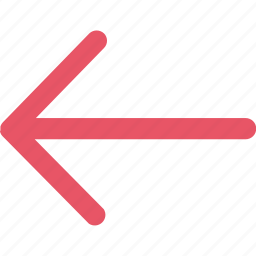 arrow, arrows, direction, left, navigation, pointer icon