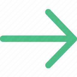 arrow, arrows, direction, navigation, pointer, right icon