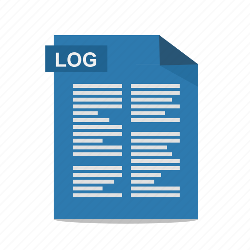 file, format, log, text icon