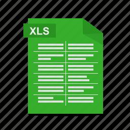 excel, file, format, spreadsheet, workbook, xls icon