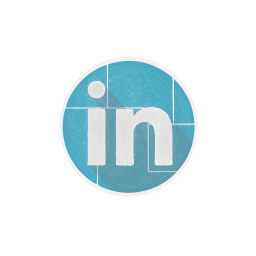 in, linked, linkedin, network, social, web icon