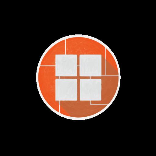 internet, microsoft, network, social, windows, windows8 icon