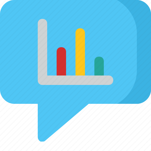 bar, chat, comment, conversation, diagram, message icon