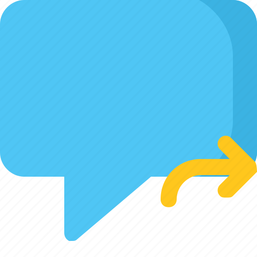 chat, comment, conversation, message, reply icon