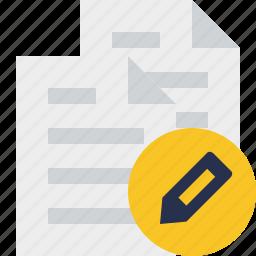 copy, documents, duplicate, edit, files icon