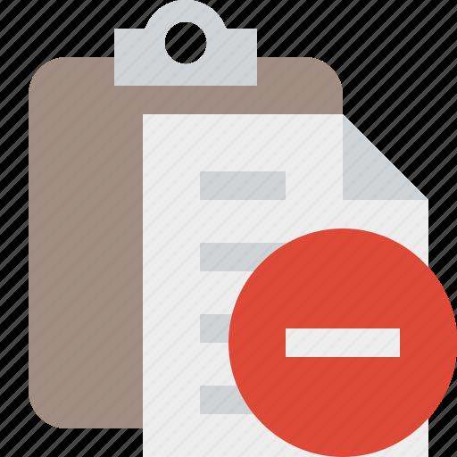 clipboard, copy, paste, stop, task icon