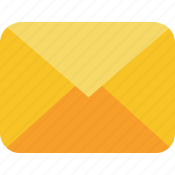 communication, email, letter, mail, message icon