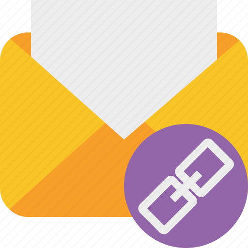 communication, email, letter, link, mail, message, read icon