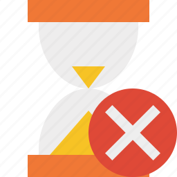 alarm, cancel, clock, timer, wait, watch icon