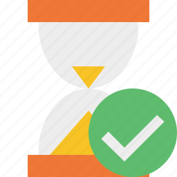 alarm, clock, ok, timer, wait, watch icon