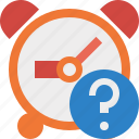 alarm, clock, event, help, schedule, time, timer icon
