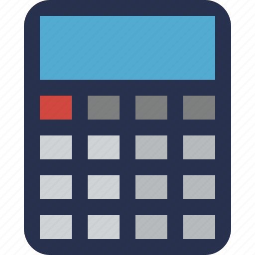 accounting, calculate, calculator, finance, math icon
