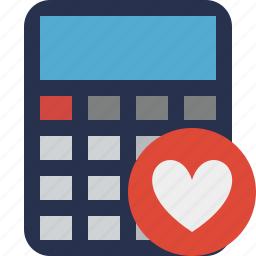 accounting, calculate, calculator, favorites, finance, math icon