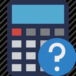 accounting, calculate, calculator, finance, help, math icon
