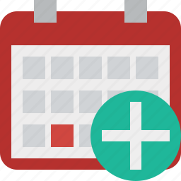 add, calendar, date, day, event, month, schedule icon