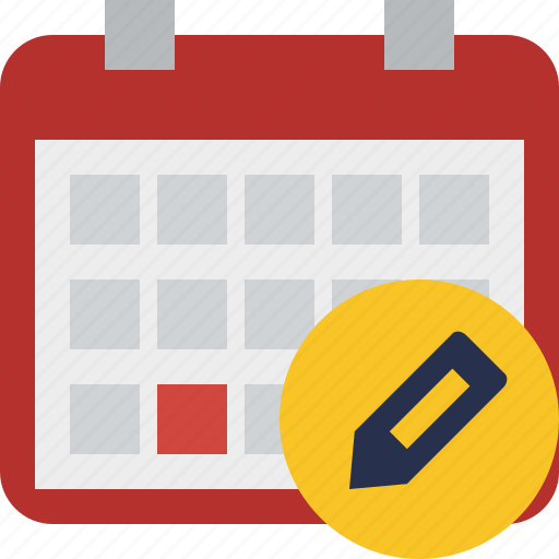 calendar, date, day, edit, event, month, schedule icon