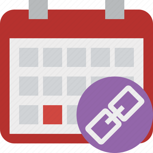 calendar, date, day, event, link, month, schedule icon