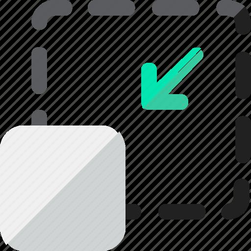 close, minimize, reduce, windows icon