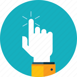 flat design, hand, mobile, people, screen, technology, touch icon