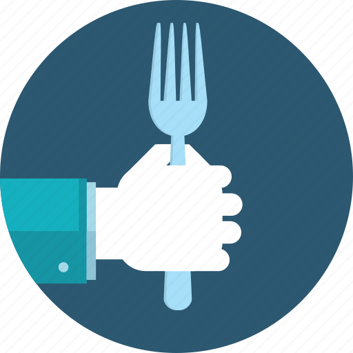 cuisine, flat design, food, hand, menu, people, restaurant icon