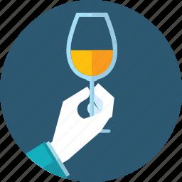 bar, drink, flat design, hand, menu, people, restaurant icon
