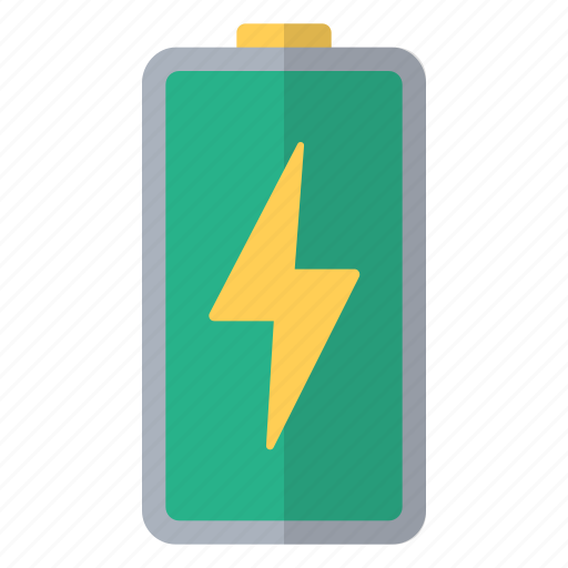 battery, charge, charging, full, green, hardware, power icon