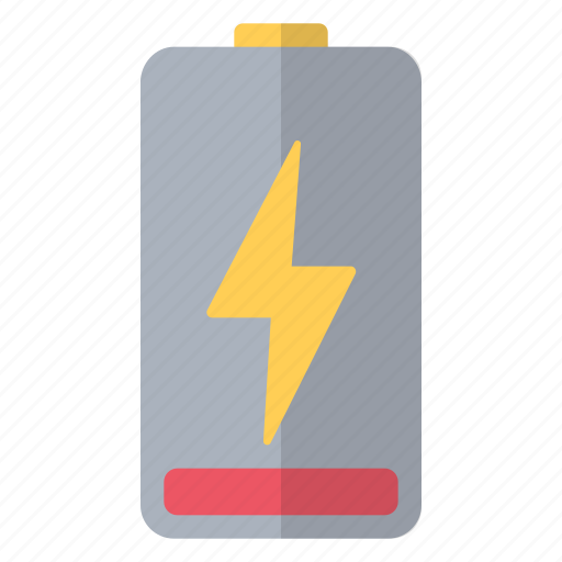 battery, charge, charging, hardware, one, red, tenth icon