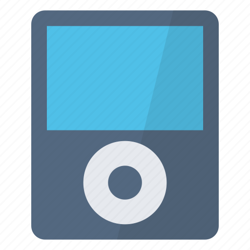 device, hardware, ipod, music, player, songs, technology icon