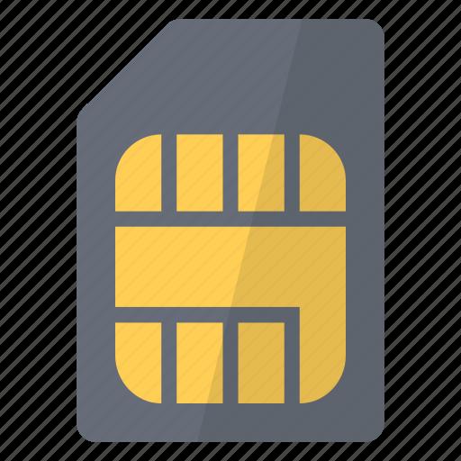 call, card, hardware, network, phone, sim, telephone icon