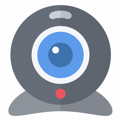 camera, filming, hardware, network, video, visio, webcam icon