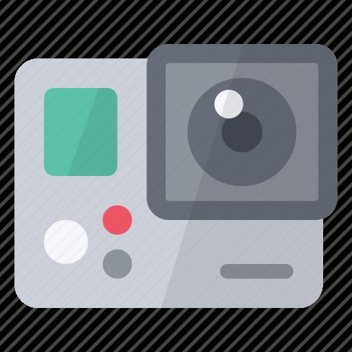 camera, film, gopro, hardware, record, video icon