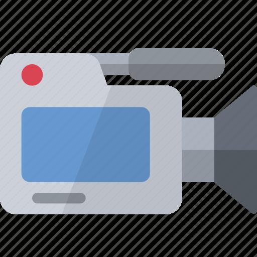 camera, camescope, filming, hardware, micro, recording, video icon