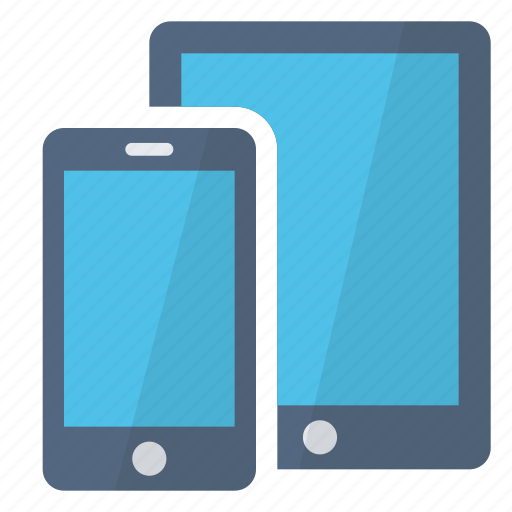 devices, hardware, items, platforms, smartphone, tablet, technology icon