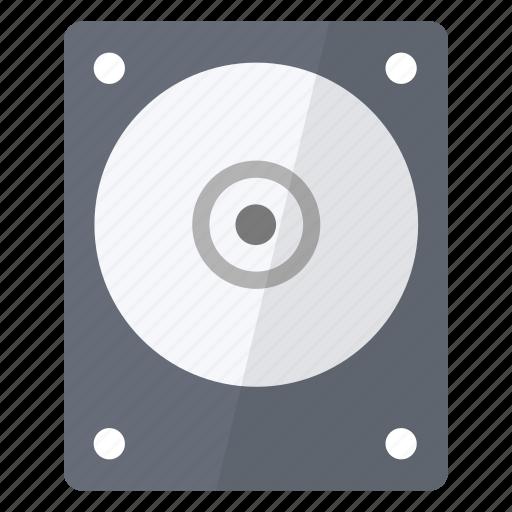data, disk, hard, hardware, information, old, storage icon