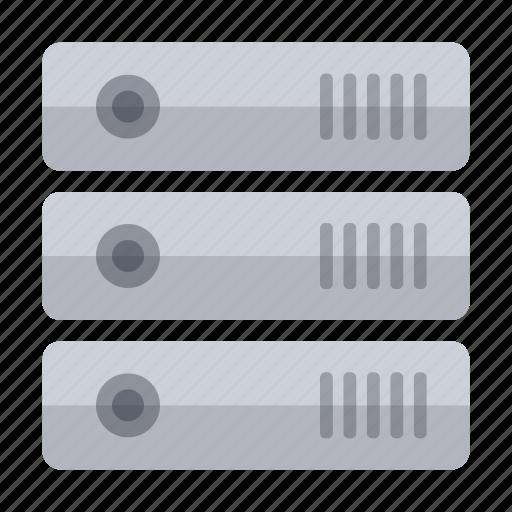 data, hard disk, hardware, information, network, storage icon