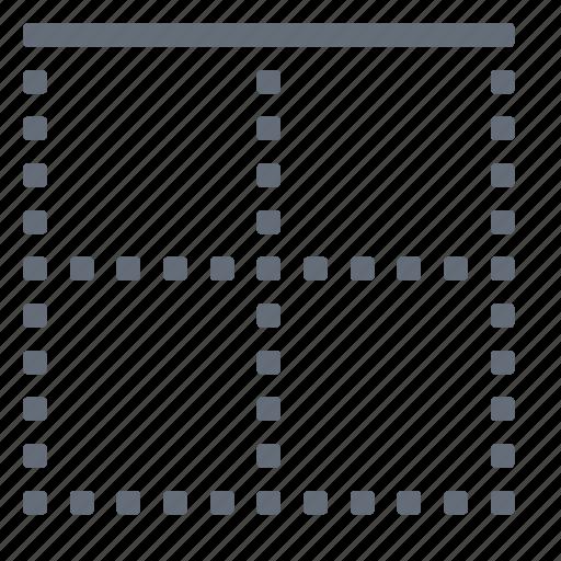 border, cell, top icon