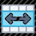 cells, center, merge icon