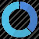 chart, doughnut, graphic icon