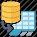 database, import icon