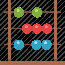 abacus, calculator, math icon