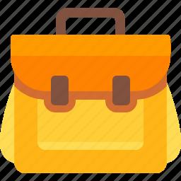 backpack, camping, education, school, school bag, travel bag icon